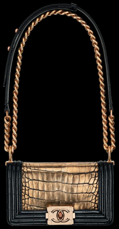 chanel-boy-bag-collection-ss12-crocodile-gold-chain
