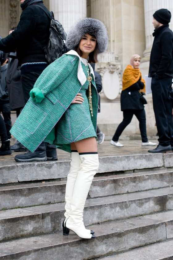 Chanel in Paris.