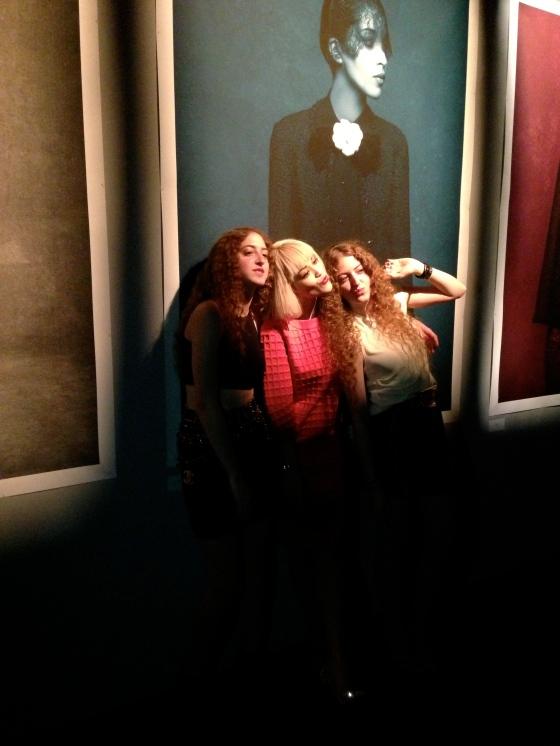 Sama & Haya Abu Khadra with Rita Ora