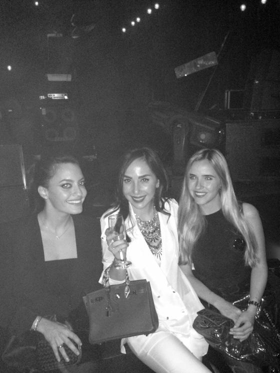 With Karen & Dana.