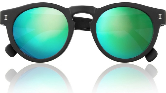 The above sunglasses are by Illesteva and are available at www.net-a-porter.com