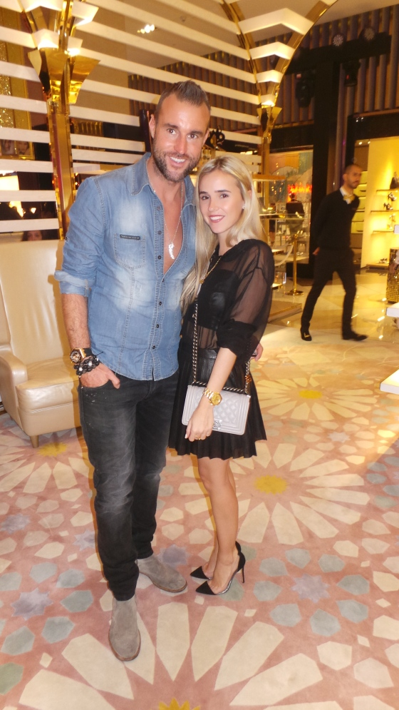 With Philipp Plein