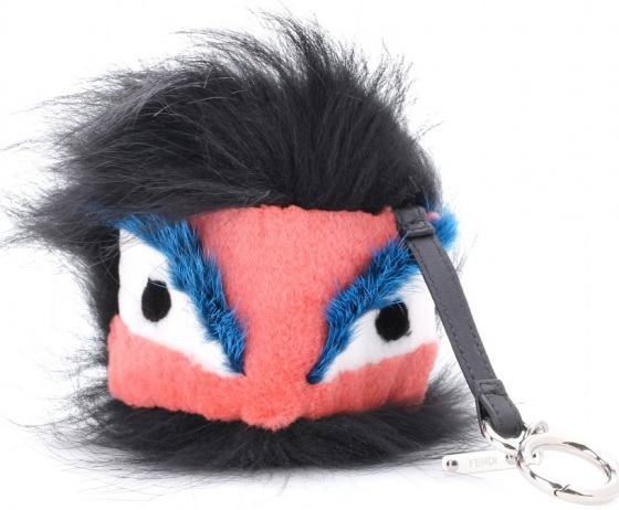 P00079284-Mink-and-fox-fur-monster-key-chain-STANDARD