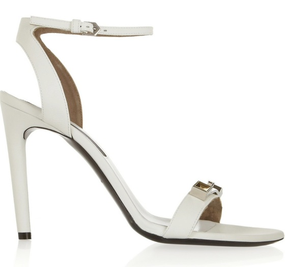 PROENZA SCHOULER Embellished leather sandals Was £534.09 Now £267.05