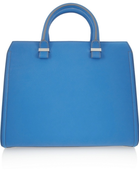 VICTORIA BECKHAM The Victoria matte-leather tote Was £2,745.81 Now £1,647.49