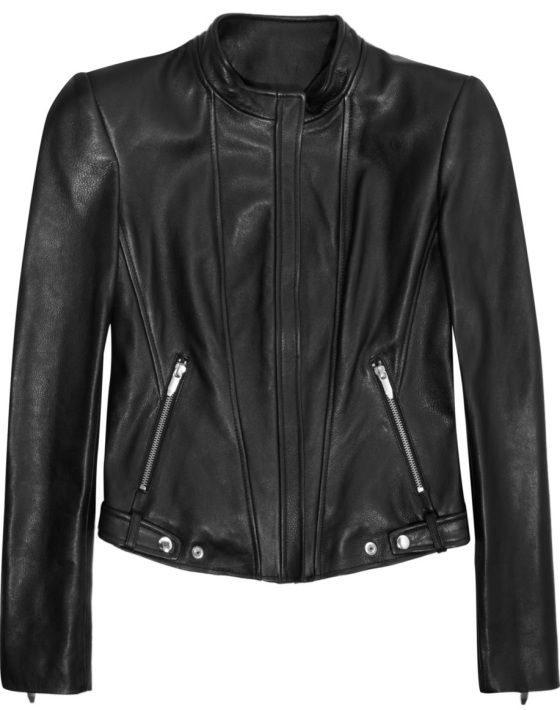 THEYSKENS' THEORY Leather biker jacket Was £1,332.06 Now £799.24